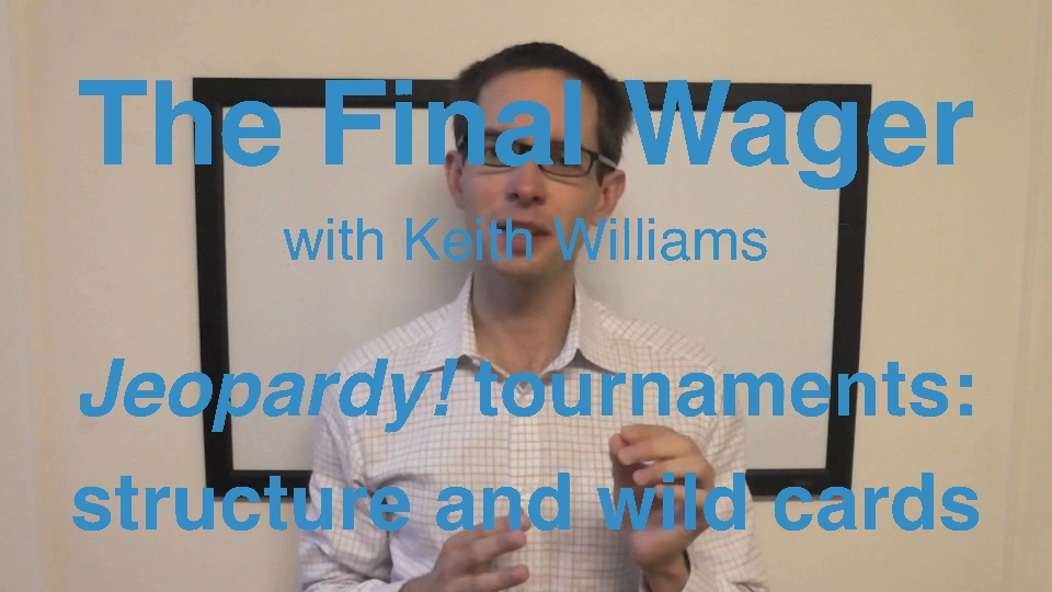 The Final Wager - Jeopardy! tournament structure cover