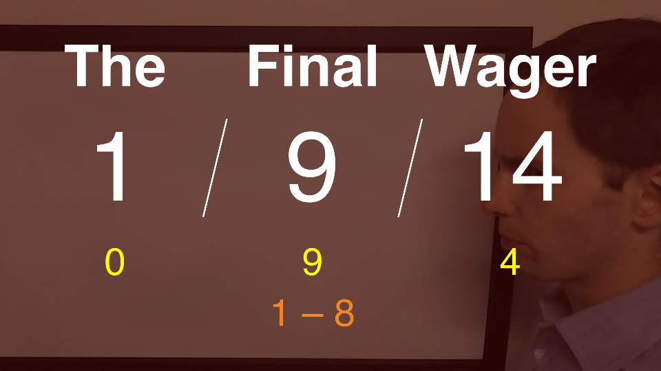 The Final Wager - January 9, 2014