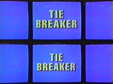 Jeopardy tiebreaker board