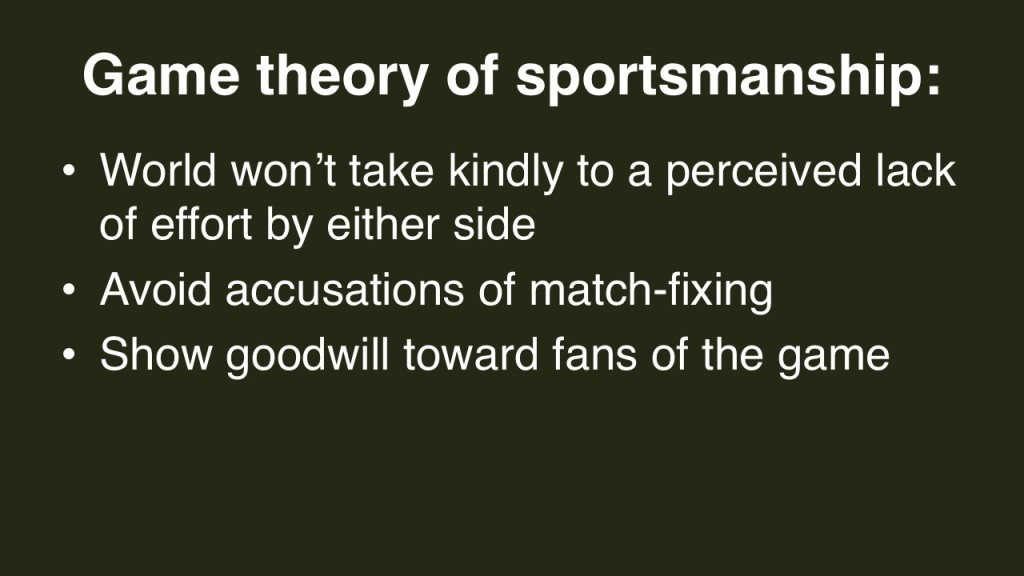 2014 FIFA World Cup game theory