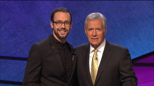 Jared Hall Alex Trebek