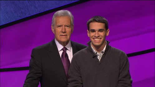 Jim Coury Alex Trebek