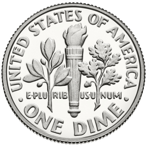 2014 dime reverse proof