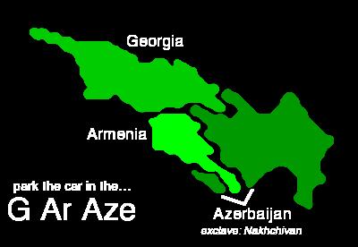 Caucasus region solid