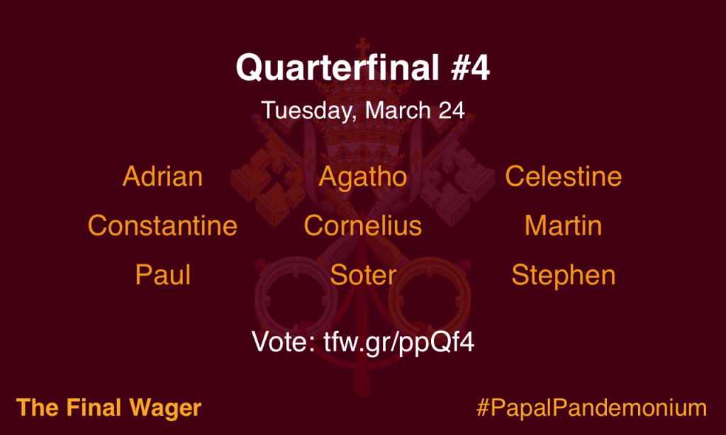 Papal Pandemonium quarterfinal 4