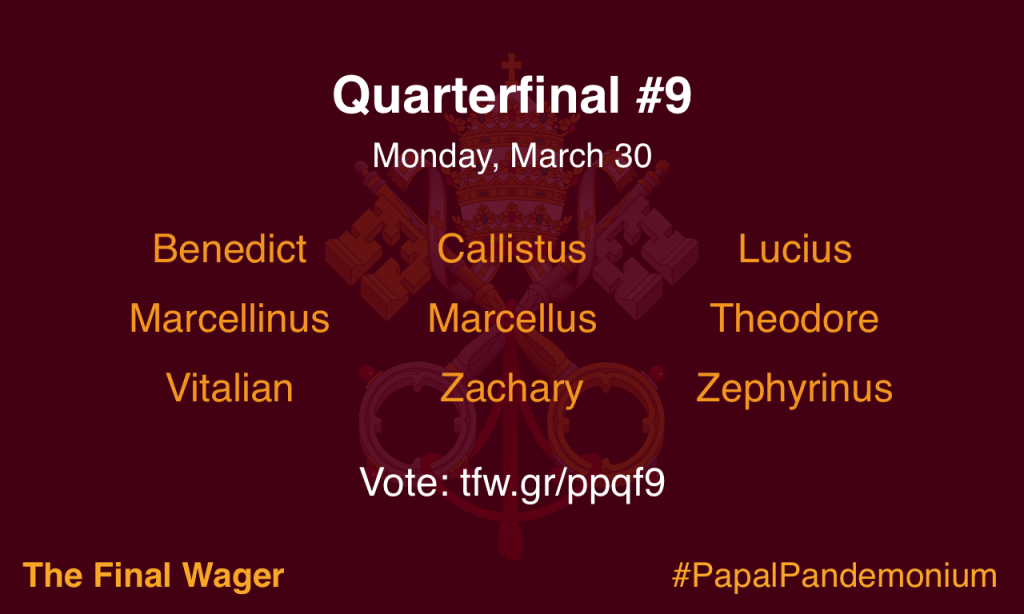 Papal Pandemonium quarterfinal 9