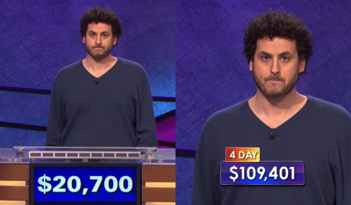 Alex Jacob poker face