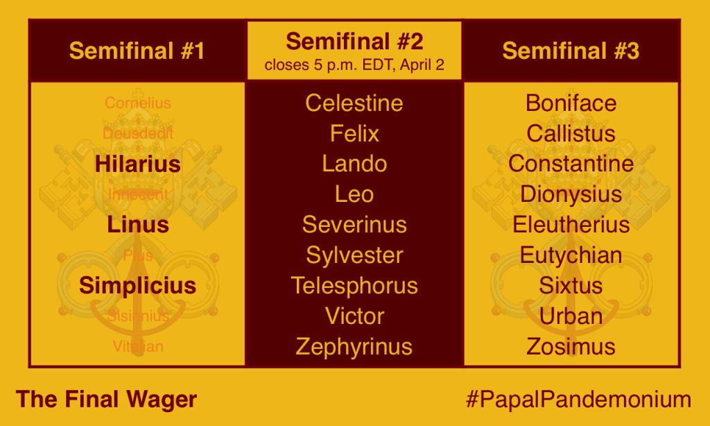 Papal Pandemonium semi 2
